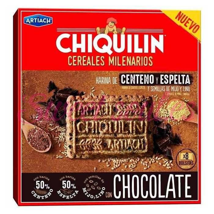 CHIQUILIN CERELAES MILENARIOS CHOCOLATE 260g