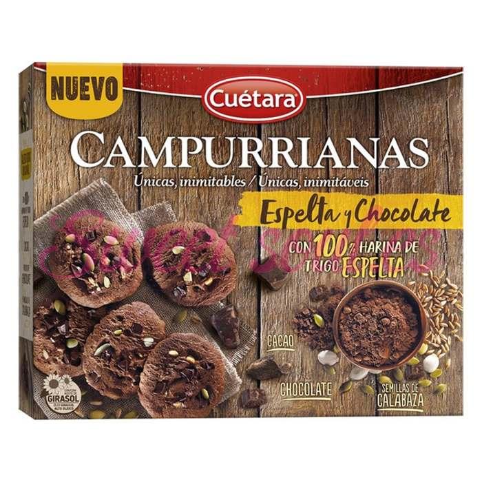 CAMPURRIANAS ESPELTA Y CHOCO 320g