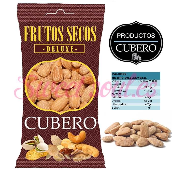 ALMENDRAS FRITAS DELUXE CUBERO 12x90g