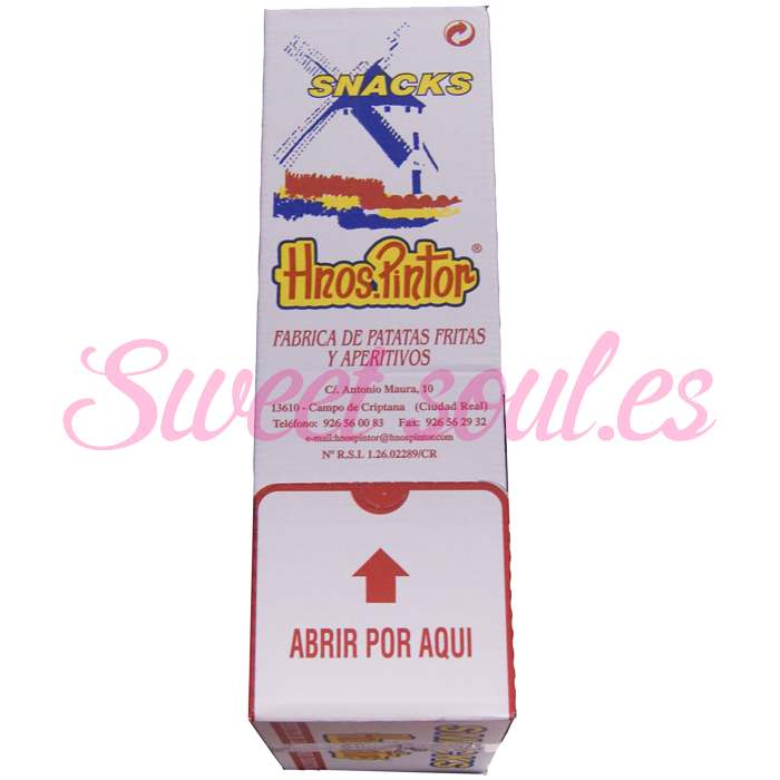 PATATAS FRITAS LISAS, 24 UNDSx40gr