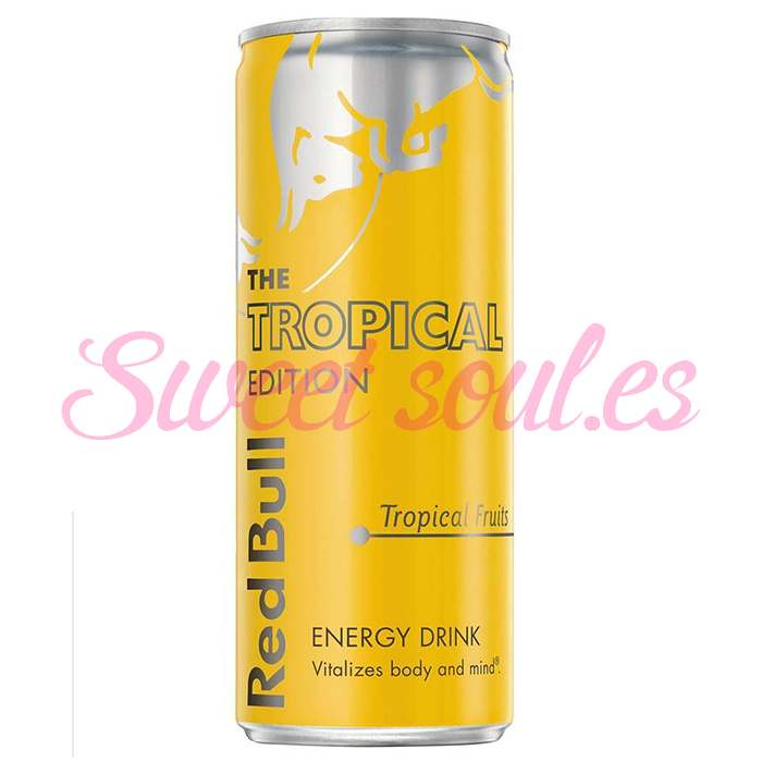 RED BULL TROPICAL EDITION, 12UNDSx250ml
