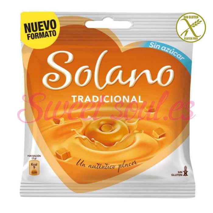 BOLSA DE CARAMELOS SOLANO SIN AZUCAR, 99g