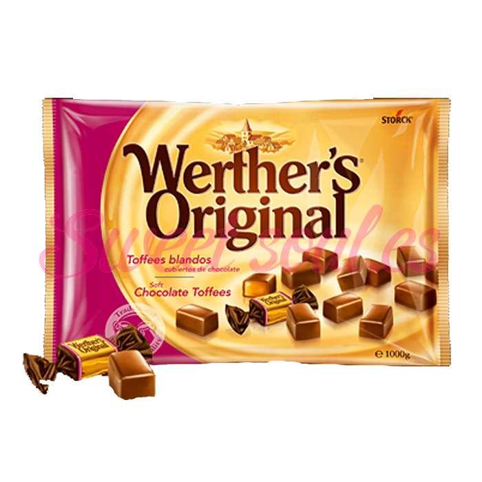 WERTHERS CHOCO TOFFE 1kg