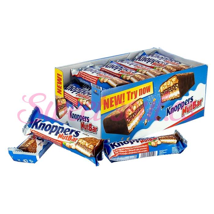 KNOPPERS NUTBAR 24x40g
