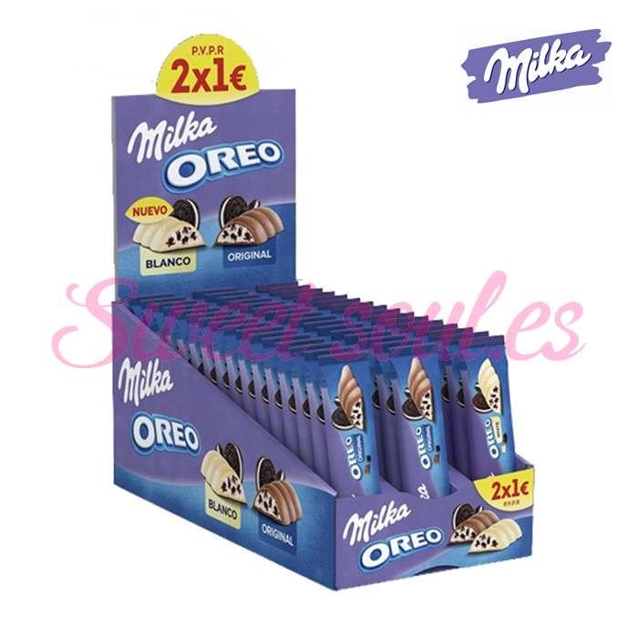 MILKA OREO BLANCO/ORIGINAL 48UNDS, 2x1€