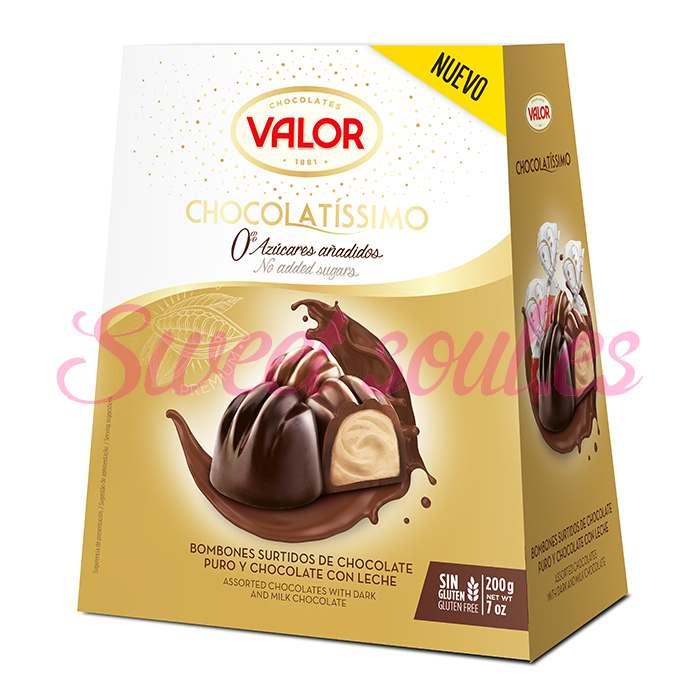 CHOCOLATISSIMO SELECCION ORO CHOCOLATES VALOR 200g