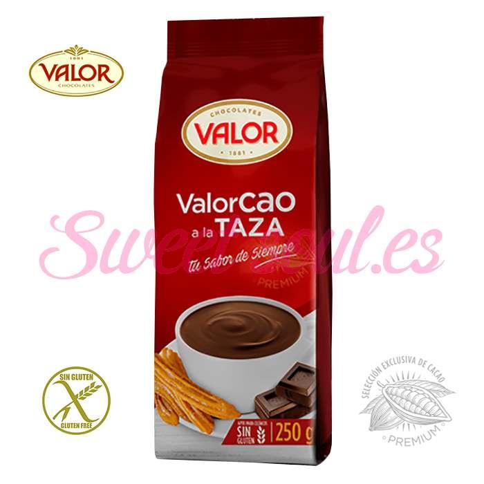 BOLSA DE VALORCAO A LA TAZA VALOR, 250g