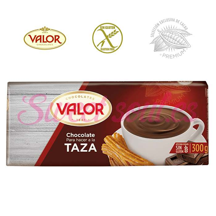 CHOCOLATE PARA HACER A LA TAZA VALOR, 300g