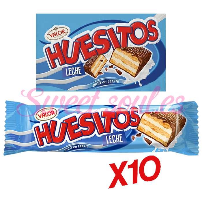 PACK CHOCOLATINA HUESITOS VALOR, 10UNDS