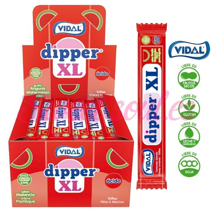 CAJA DE DIPPER XL SABOR SANDIA VIDAL, 100UNDS