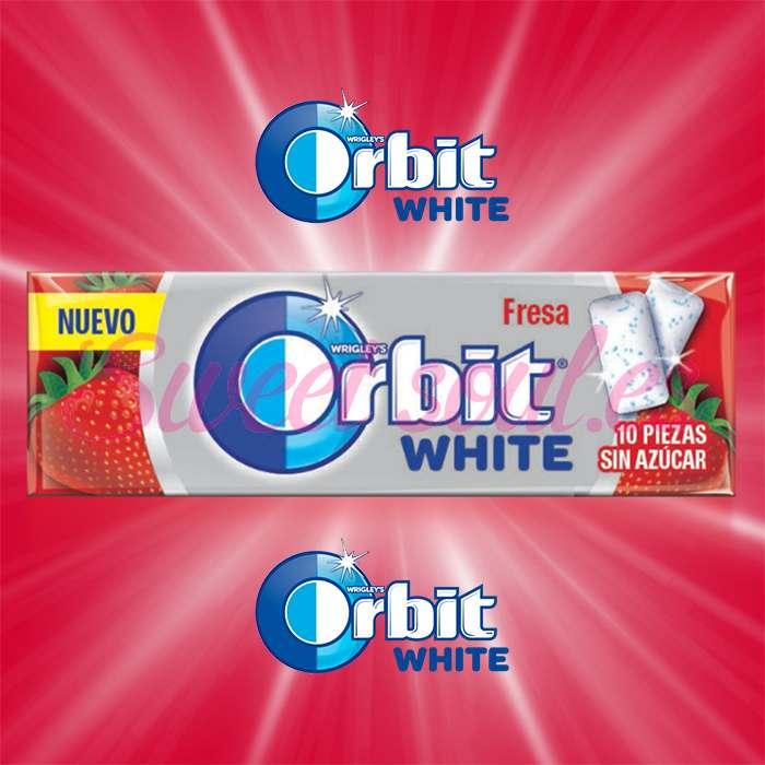 CAJA DE CHICLES ORBIT WHITE, 30UNDSx10GRAGEAS