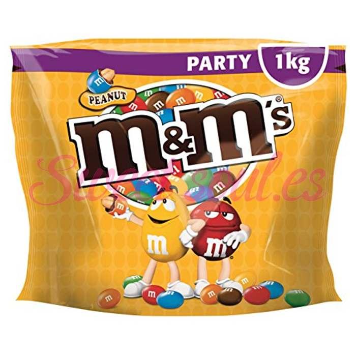 BOLSA DE PARTY M&M's PEANUT, 1kg