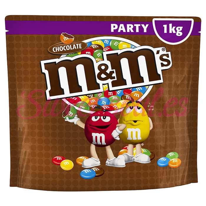 BOLSA DE PARTY M&M's CHOCOLATE, 1kg