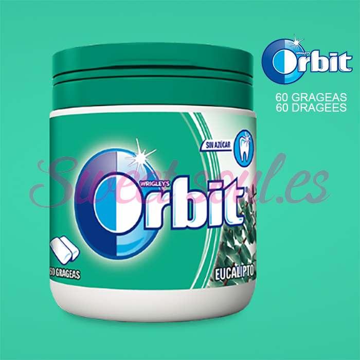 BOTE DE CHICLES ORBIT 46/60 GRAGEAS