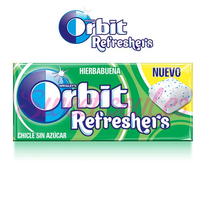 ORBIT REFRESHERS 16UNDS